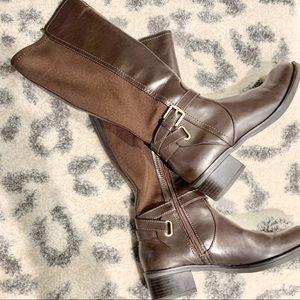 Brown Riding boots 👢Franco Sarto Size 7.5